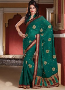 Latest Designs of Sarees for Women2014