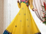 yellow Frock Designs for women in Pakistan