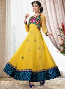 yellow Frock Designs for women in Pakistan