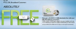 PTCL Free EVO Device Offer for All DSL Subscribers How to Get USB