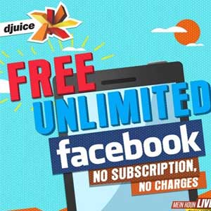 djuice Free Facebook Offer for Telenor Users Activation Detail