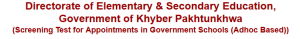 PST, CT NTS Entry Test Answer Key, Result KPK School Teachers Job