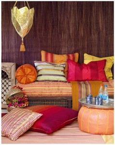 Pakistani Home with Home Accessories