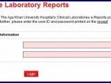 Aga Khan Hospital Check Online Lab Test Reports, Charges