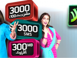 Telenor Talkshawk Mahana Rakhwala Offer, Monthly Package Charges