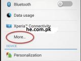 internet setting