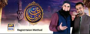 Shan e Ramzan Registration Junaid Jamshed Waseem Badami ARY Digital