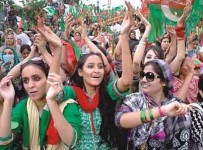 azadi long march girls picture