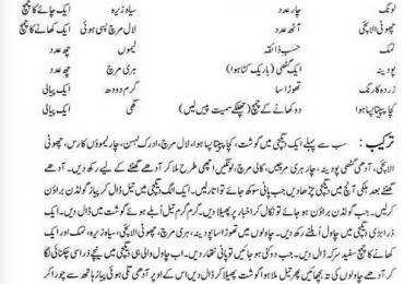 Hyderabadi Mutton Biryani Recipe in Urdu