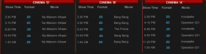 Capri Cinema Karachi New Movies Schedule Show Timings