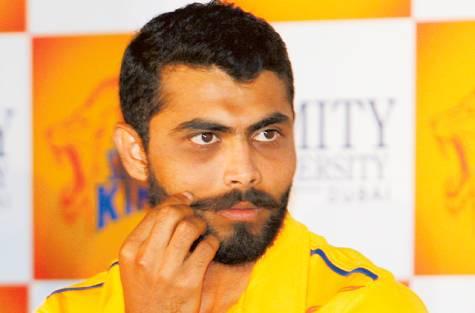 Ravindra Jadeja Mustache Style