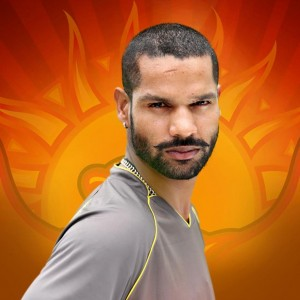 Dhawan Moustache Style