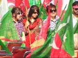 pti gilrs picture in jalsa