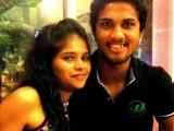 Dinesh Chandimal with Girlfriend Dating