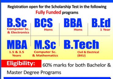 NTS Brains Scholarship Program Peshawar Test Result 2014