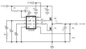 dc dc converter schematic diagram