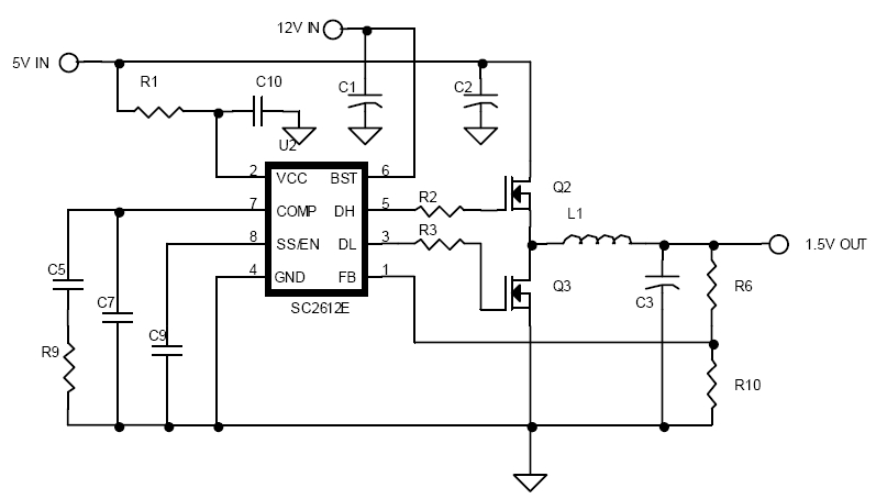 Dc to dc converter circuit diagram step down dc dc converter schematic diagram ccuart Image collections
