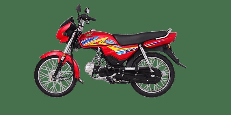 70cc bike of the honda dream