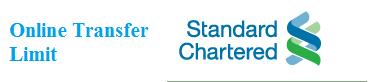 Standard Chartered Bank Pakistan Online Transfer Limit