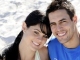 Mitchell Johnson Wife pictures