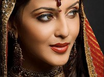 pakistani bridal makeup pictures