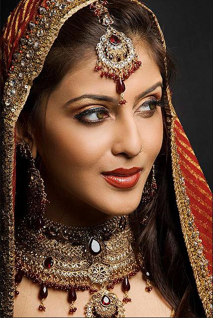 pakistani bridal makeup pictures