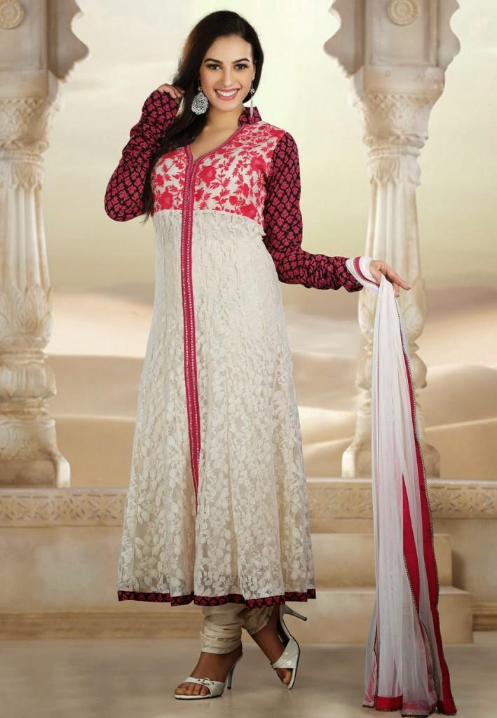 Pictures of dresses shalwar kameez in pakistani designs 2017