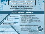Bahria University Lahore Campus Admission Spring 2015 Form Last Date