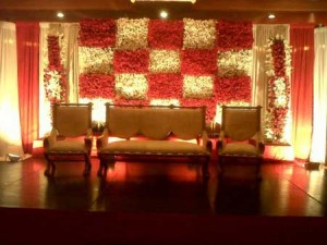 Pakistani Wedding Stage Decoration Ideas Pictures