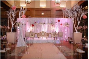 Cool Pakistani Wedding Stage Decoration Ideas Pictures