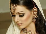 Simple Pakistani Wedding Hairstyles Pictures For Brides