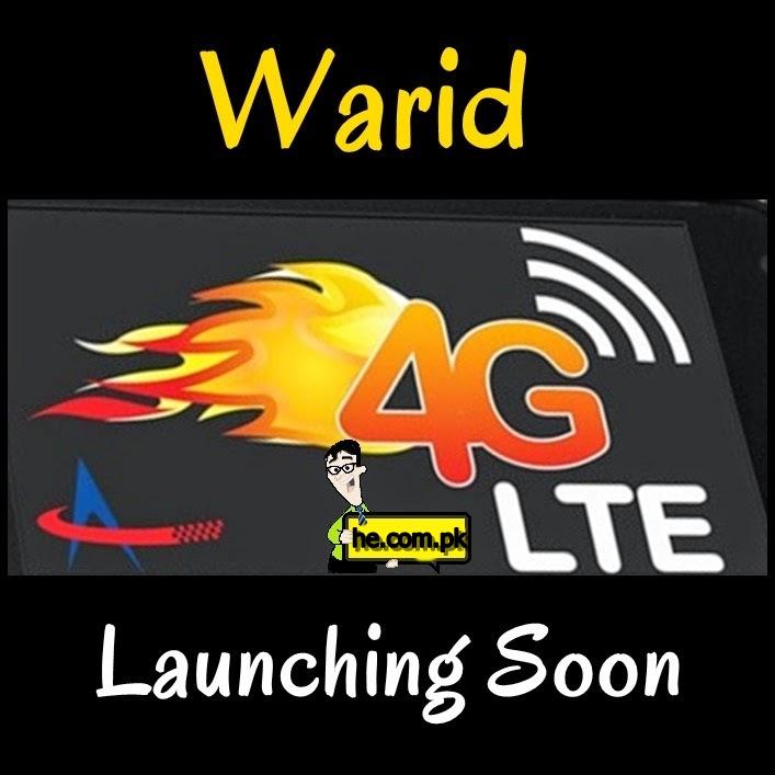 Warid 4G LTE Packages Plan Price in Pakistan