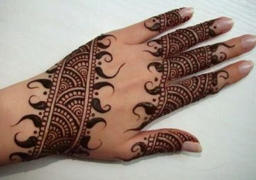 Latest Arabic Mehndi Designs for Hands 2015