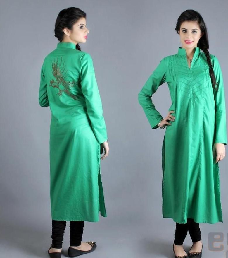 Latest Long Shirts Designs 2018 In Pakistan