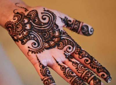 New Arabic Mehndi Designs for Hands 2015