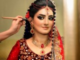 good looking make over of bride