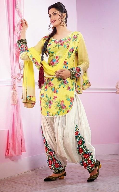 Latest patiala salwar kameez designs 2018 for Girls suit design