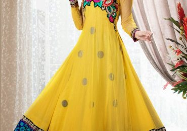 Latest Net Frocks Designs in Pakistan 2020