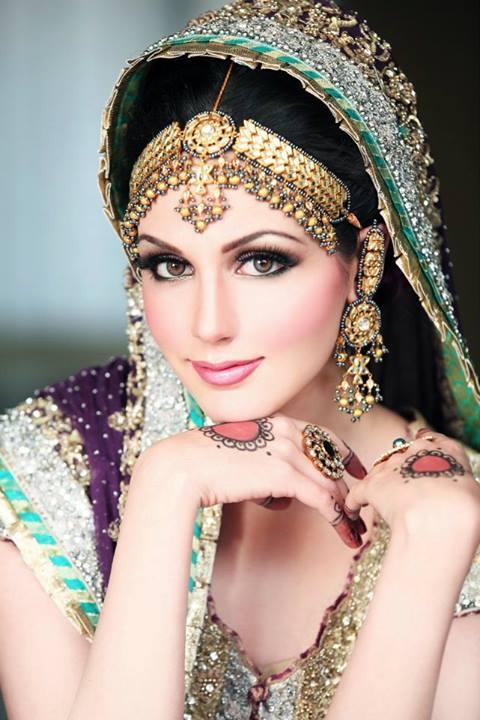 Funny Bridal Makeup : Pics Photos - Pakistani Bridal Walima Makeup Pictures