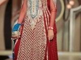 beautiful pakistani brides dresses red