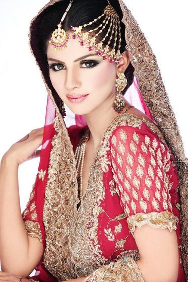 Bridal Face Makeup Step By Step With Pictures : Pakistani Bridal Makeup 2015 in Urdu Video dailymotion
