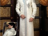 groom wedding dress indo western