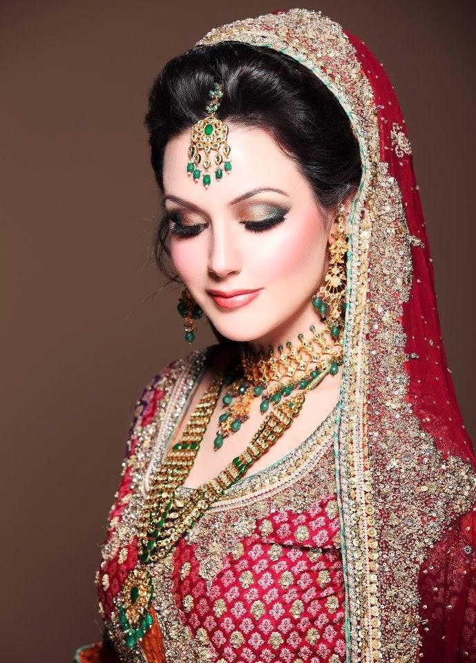 Pakistani Bridal Makeup 2015 In Urdu Video Dailymotion-2506