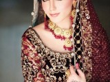 pakistani wedding dresses 2015 in red