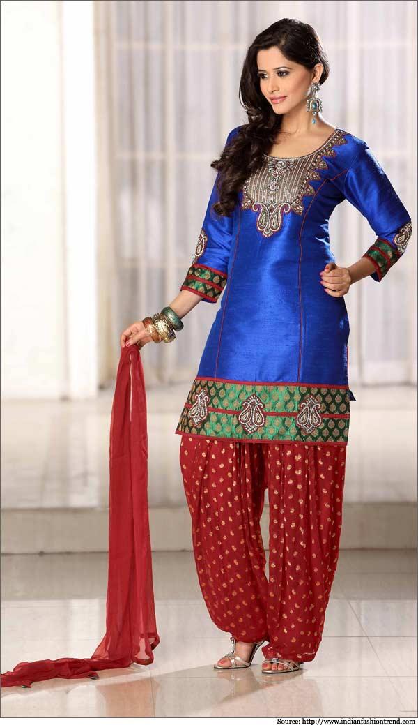 Designer Patiala Salwar Suits Online Shopping