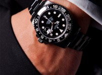 rolex watches for men black