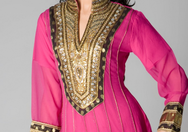 Simple Back Neck Designs For Salwar Kameez