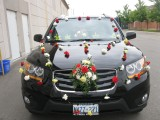 wedding car decoration accessories