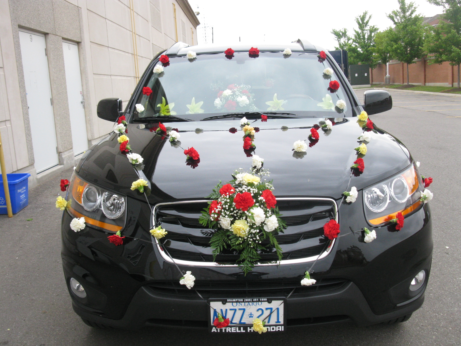 Wedding car decoration ideas in pakistan pictures for Auto decoration in pakistan