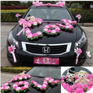 wedding car decoration pictures in pakistan